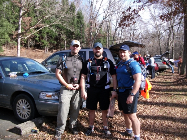 Team Virtus at the Sleepy Hollow Rogaine
