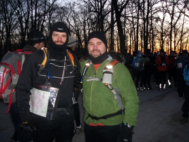 Bob and Luke - Team Virtus at Castlewood Adventure Race