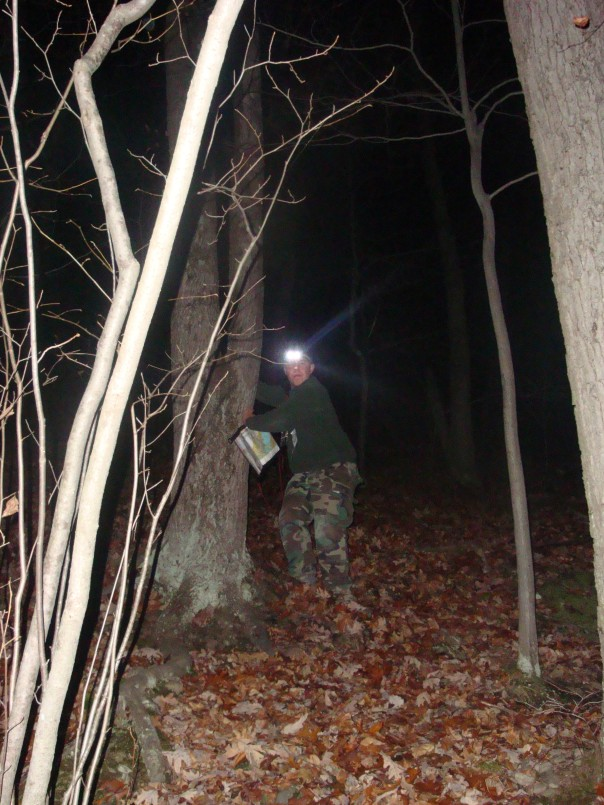 Night Navigation at the Mendon Ponds Night-O Race