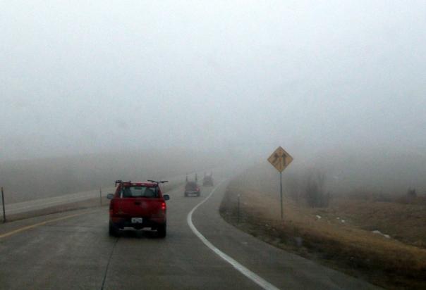 Foggy Convoy