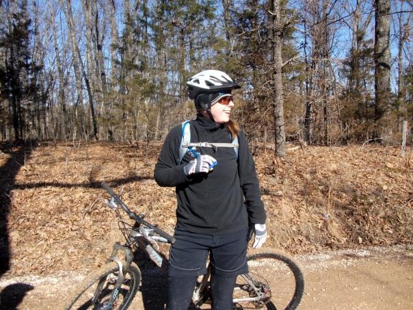 Noelle on the Joe Dirt Ride