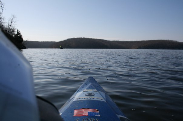 Cold Weather Kayaking on Lake of the Ozarks