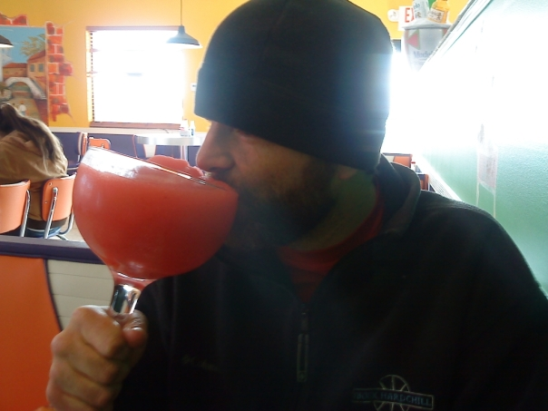 Monster Strawberry Margarita