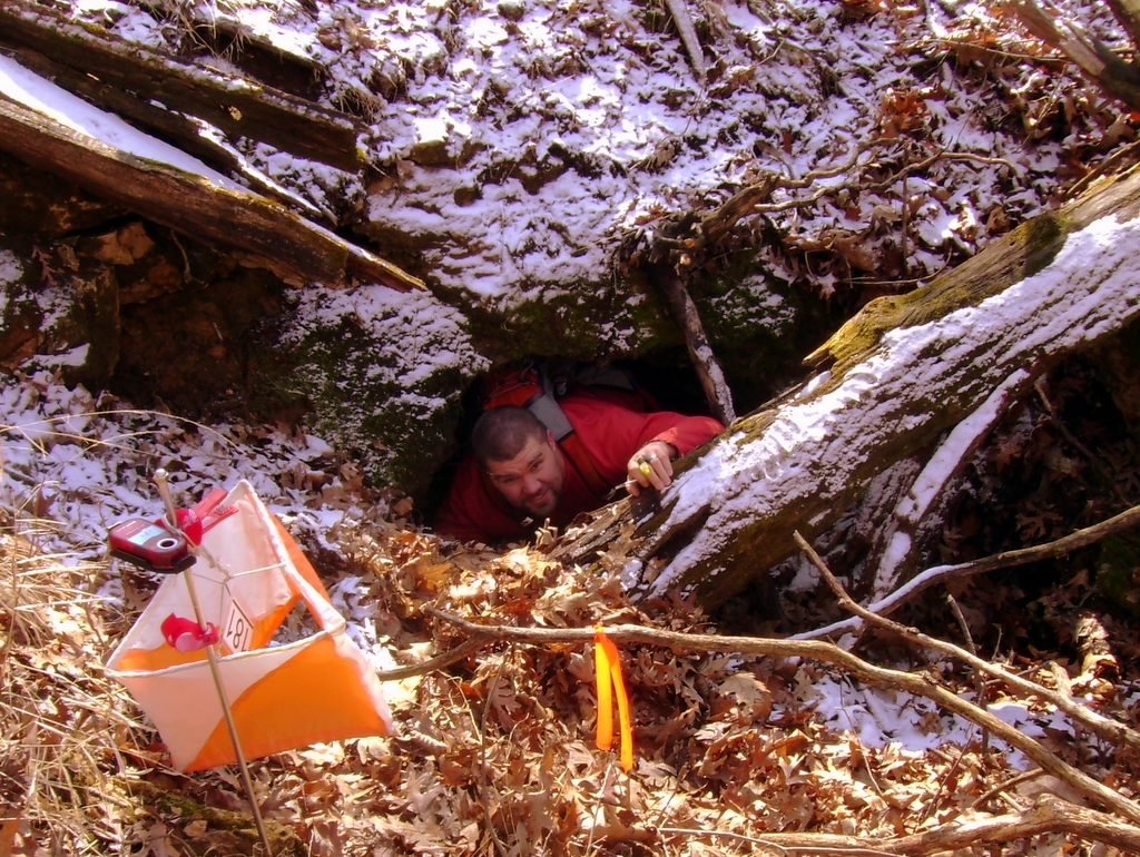 Orienteering: out of the hole