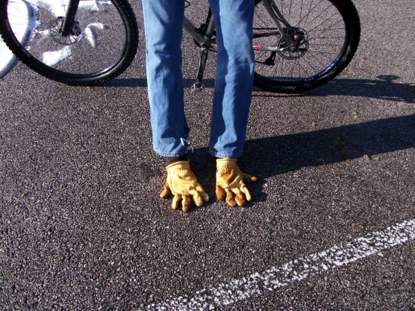 Ghetto Vibram Five Fingers