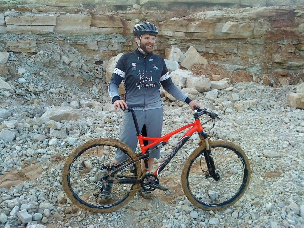 Bob's new Specialized Epic 2010