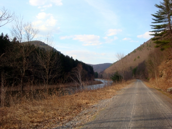 Old Rail Trail in the Grand Canyon of Pennsylvania