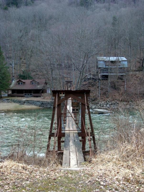 Bridge along the Pine Creek Trail, PA