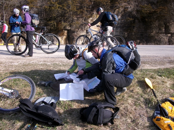 Mapping the bike route at LSAR