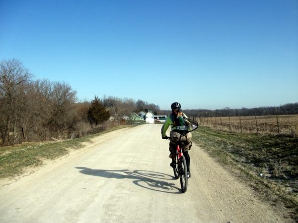 Gravel Road Biking at the Lightning Strikes AR