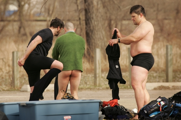 Team Virtus Changing Clothes