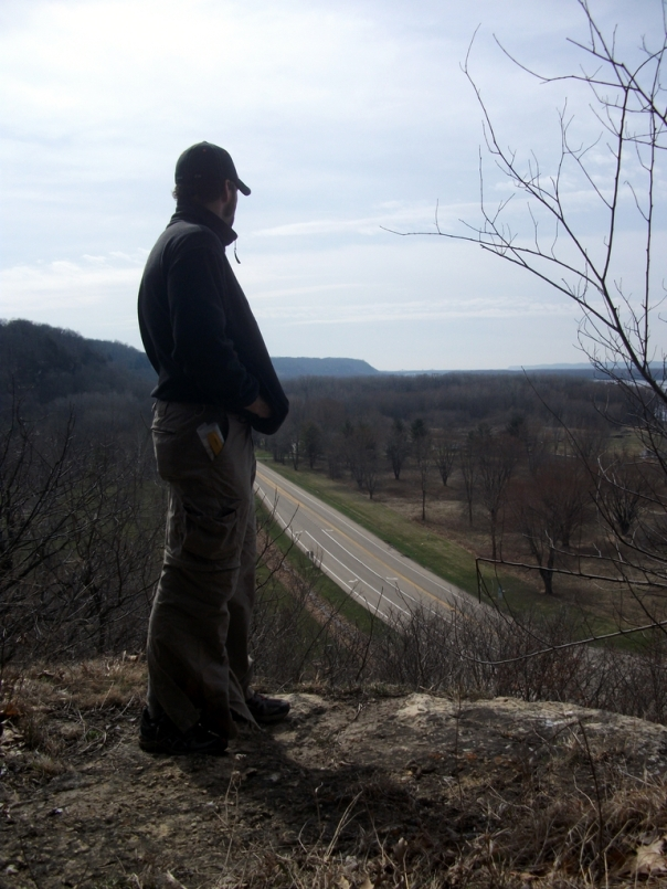 Lookout at Mississippi Palisades State Park