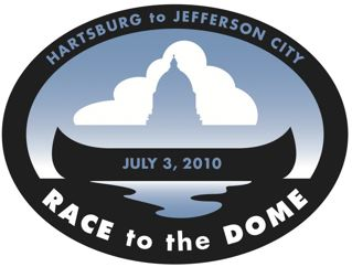 Race to the Dome Canoe Race, Jefferson City, MO