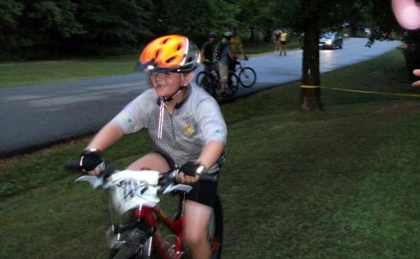 Happy Kid at Alpine Shop Short Track Dirt Crit