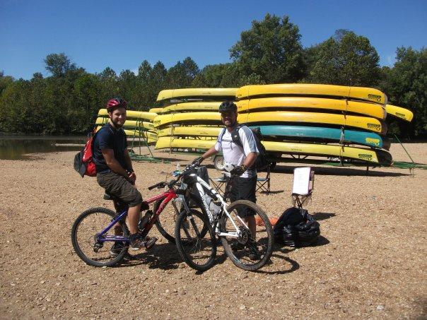 Transition to Bikes at Berryman