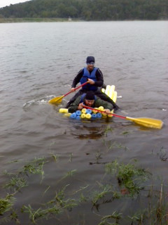 Berryman Adventure Race 2010 Mystery Event Noodle Raft
