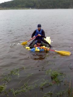 Berryman Adventure Race 2010 Mystery Event Noodle Raft
