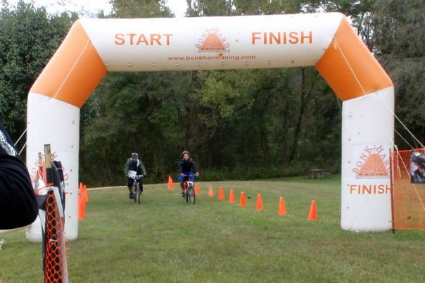 Finishing the Berryman Adventure 36 Hour Race