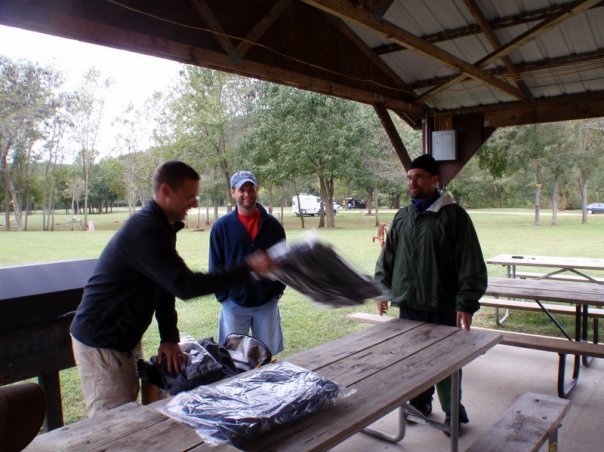 Picking prizes at the Berryman Adventure Race