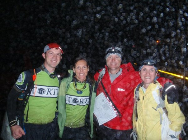 Team Torti at The Berryman Adventure Race 2010