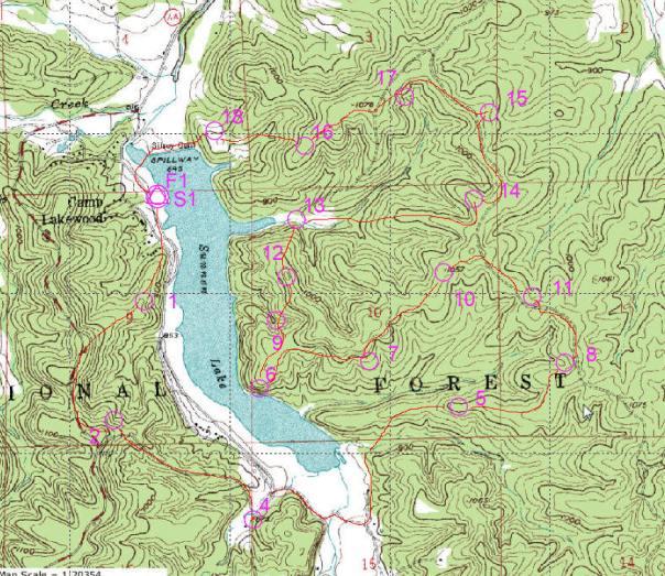 Berryman Adventure Map Trek 2