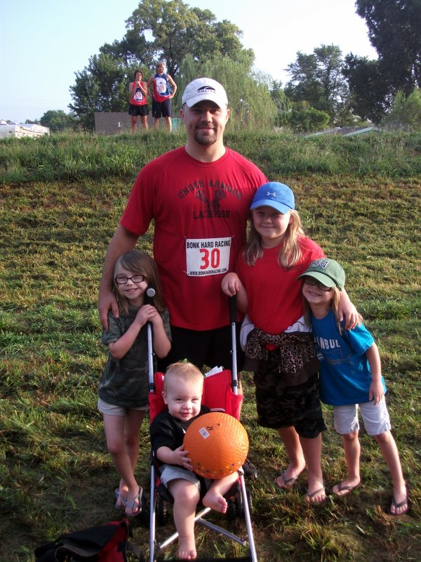 Me and the kids at Wakarusa Challenge