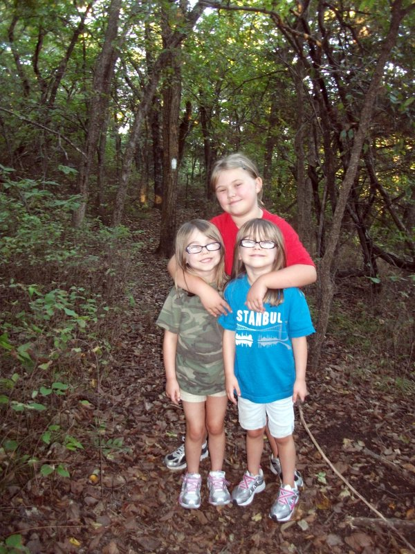 The Girls Hiking at Clinton State Park