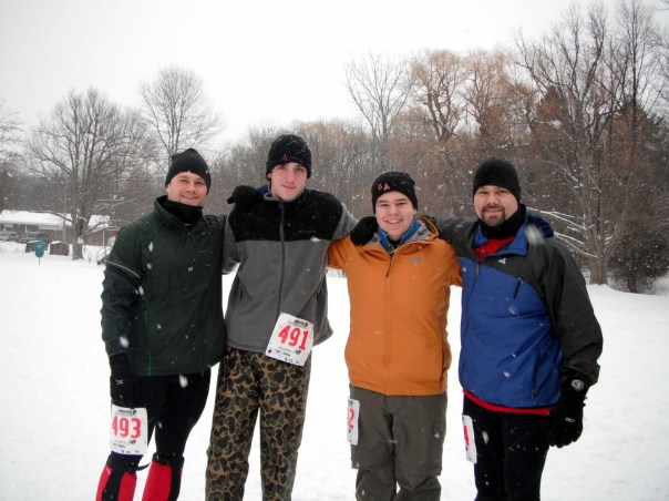 Start of Snowshoe 5K