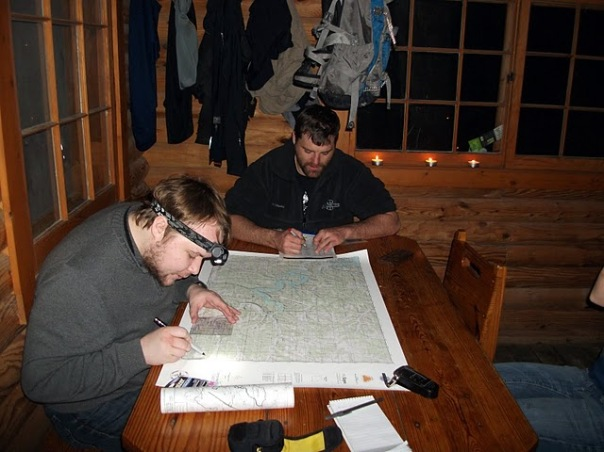 Plotting Points for Adventure Racing