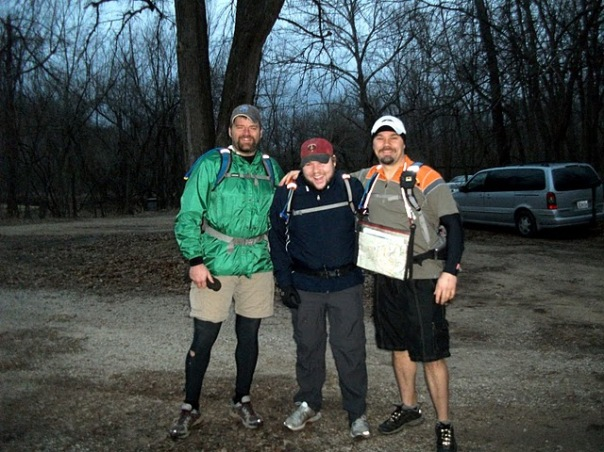 Start of the 2011 Bonk Hard Chill Adventure Race