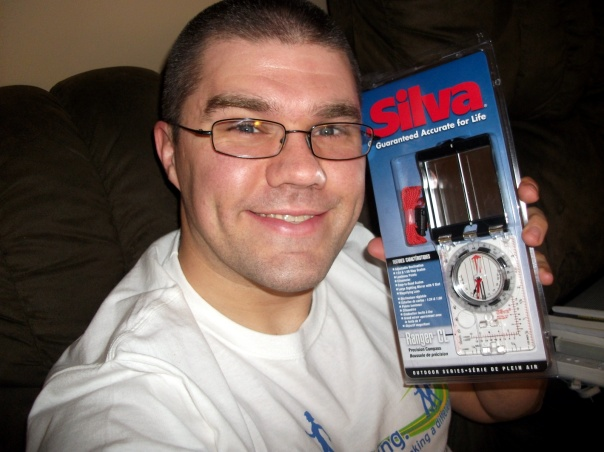 Me with my new Silva Ranger CL Compass