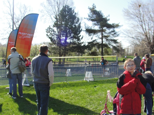 Finishing the Flower City Challenge Duathlon