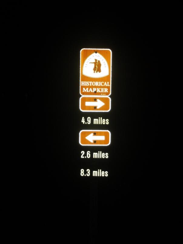 Katy Trail Marker