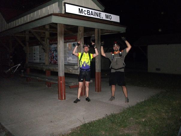 McBaine on the Katy Trail