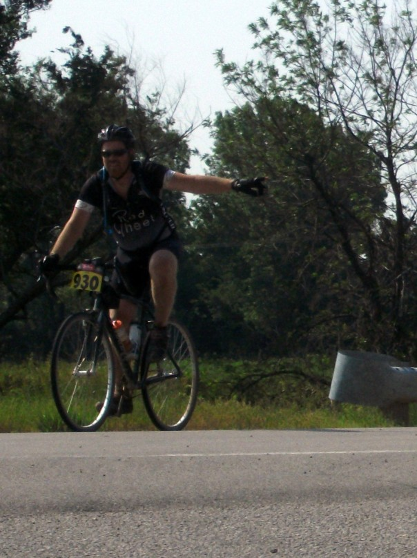 Nick Smith CP1 at Dirty Kanza