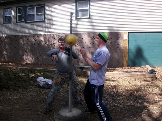 Tether Ball Death Match #1