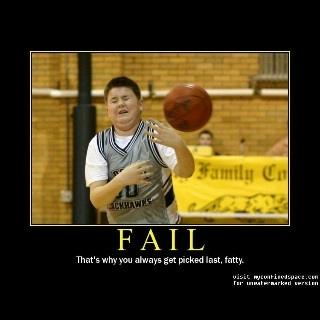 Fat Kid Dodgeball