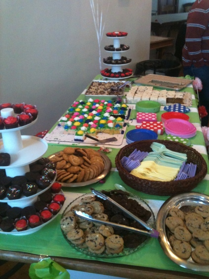 Dessert Table of Temptation