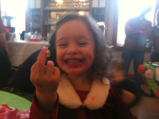 Little Girl Middle Finger