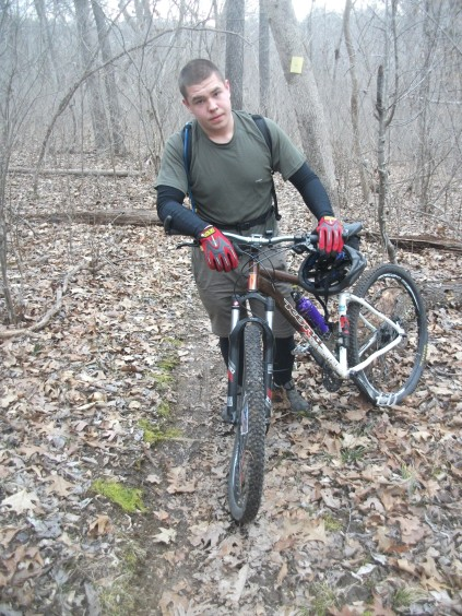 Austin's Bent Rim Mountain Biking