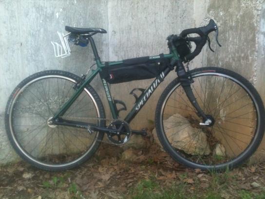 cylcocross bike setup for Dirty Kanza and Cedar Cross