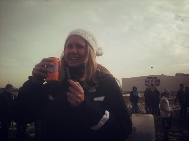 Sara at the Soda Mile