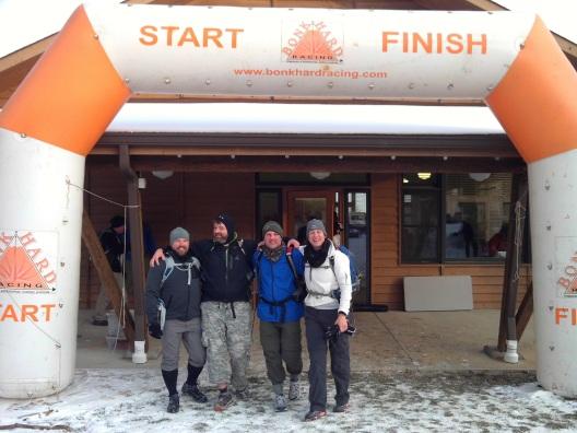 Team Virtus finishing the Castlewood Adventure Race