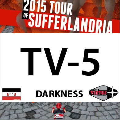 Tour of Sufferlandria Race Number