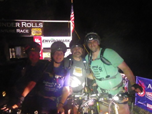 Start of 2015 Thunder Rolls Adventure Race