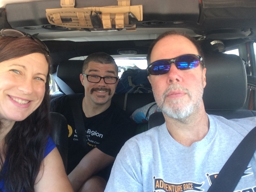 Road Trip to The Thunder Rolls Adventure Race
