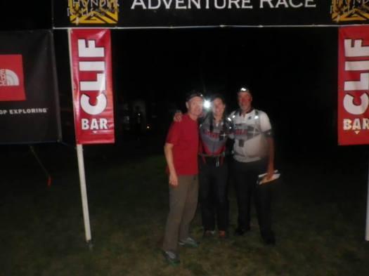 Thunder Rolls Adventure Race finsih line