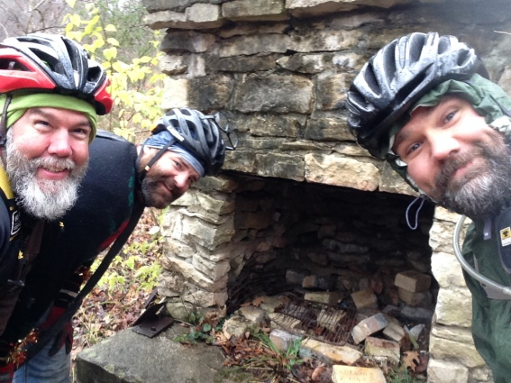 chimney checkpoint at the SHART