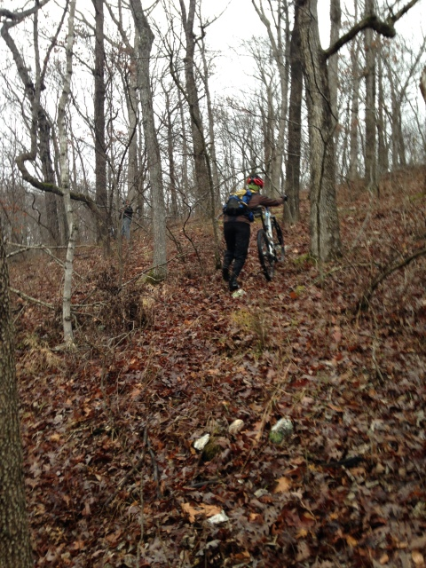 hike-a-bike orienteering at the SHART