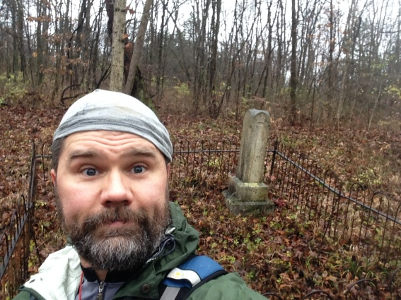 Shared adventure race training cemetery checkpoint